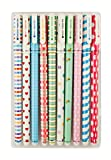 Emartbuy Pack Von 10 Glattes Schreiben Gelroller Fineliner Multi Farben