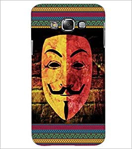 Printdhaba Mask D-3064 Back Case Cover For Samsung Galaxy E7