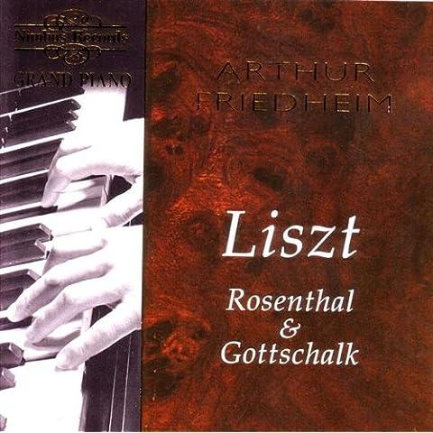 Liszt, Rosenthal   Gottschalk: Various W - Nimbus Grand Piano