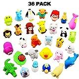 LURICO Set mit 36 Radiergummis in Form von Tieren, für Kinder, Schulen, Schüler, Schreibwaren, Schule, Radierer Puzzle Spielzeug, Kreatives Spielzeug Party