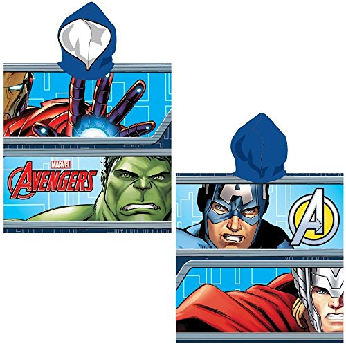 Marvel Avengers Hooded Towel Poncho by Marvel