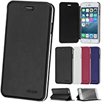 "Doupi Deluxe, Custodia Per Apple iPhone 6 Plus/6S Plus (5.5""), Nero"
