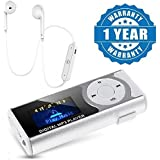 Captcha® Digital Mp3 Player With LCD Display ,Led Torch & TF Card Slot With S6 Sports In Ear Bluetooth 4.1 Headset Compatible With Xiaomi, Lenovo, Apple, Samsung, Sony, Oppo, Gionee, Vivo Smartphones (One Year Warranty)