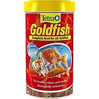 Tetra Goldfish Flake Fish Food, Complete Fish Food for All Goldfish, 500 ml