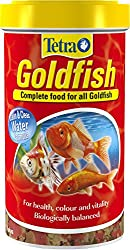 Tetra Goldfish Flake Fish Food, Complete Fish Food for All Goldfish, 500 ml
