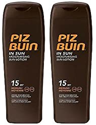 Piz Buin Lotion Solaire Spf15 X 2-200Ml Chaque