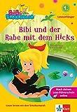 Bibi Blocksberg - Bibi und der Rabe mit dem Hicks:  Leseanfänger, 1. Klasse ab 6 Jahren