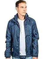 Crosshatch Mens Windbreaker Fleece Lined Winter Track Top Jackets