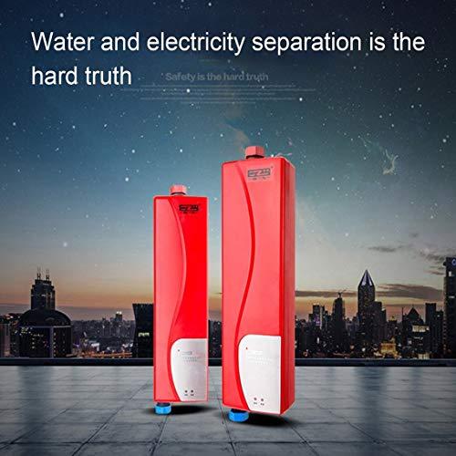 Preisvergleich Produktbild Universal Sofortige Heizung Typ Küche Po Elektrische Warmwasserbereiter Maschine für den Hausgebrauch 3000W High Power Warmwasserbereiter rot