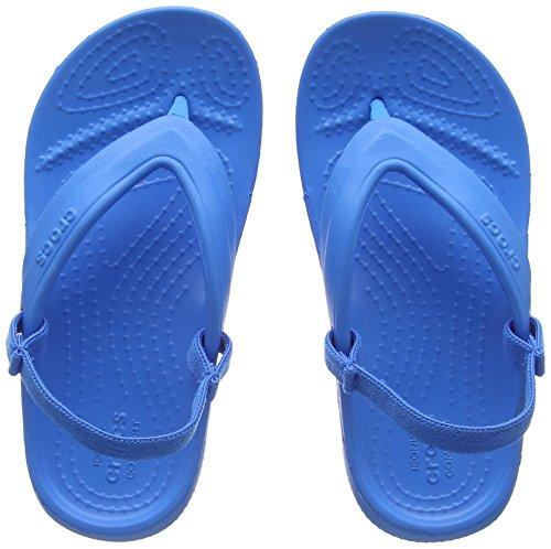crocs Classic Flip Kids, Unisex - Kinder Pantoffeln, Blau (Ocean), 30-31 EU