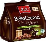 Melitta Gemahlener Röstkaffee in Kaffeepads, 100 % Arabica, weiches Aroma mit Mango-Noten, mittlerer Röstgrad, Stärke 3, Melitta BellaCrema, Selection des Jahres 2019, 10 x 16 Pads