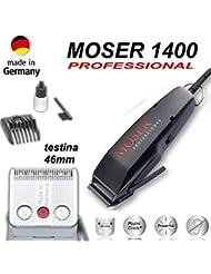 Moser classic type 1400 noir tondeo tondeuse à cheveux, tondeuse corps, tondeuse cheveux