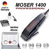 Moser Type 1400 Haarschneidemaschine, klassisch, Schwarz