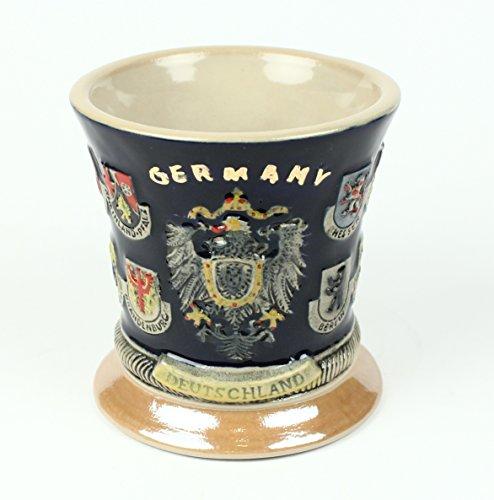 Buddel Bini Taza Alemania 16Escudo Jarra de Cerveza Diseño Taza de café Taza Taza de café Cerveza Cristal