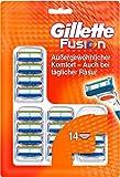 Gillette Fusion Rasierklingen, 14 Stück