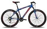 'Legnano vélo 630Rideau 27,5'Disque 21V taille 49Bleu (VTT...
