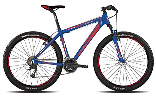 LEGNANO BICICLETA 630 CORTINA 27 5 DISCO 21 V TALLA 44 AZUL (MTB CON AMORTIGUACION)/BICYCLE 630 CORTINA 27 5 DISC 21S SIZE 44 BLUE (MTB FRONT SUSPENSION)