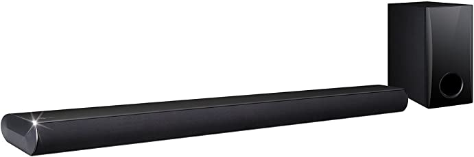 LG LAS355B 2.1 Channel 120W Sound Bar Audio System with Subwoofer and Bluetooth Connectivity