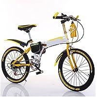 MASLEID 18/20/22 pulgadas plegable niños menores de 21 artes de bicicleta de