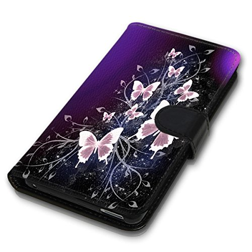 Wallet Book Style Flip Handy Tasche Case Schutz Hülle Schale Motiv Etui für Apple iPhone 6 / 6S - Variante UMV14 Design12 Design 8
