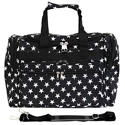 world-traveler-81t16-586b-w-duffle-bag-one-size-black-white-stars