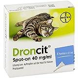 DRONCIT Spot on 40mg/ml Lsg.z.Auftr.a.d.Haut f.Ka. 2 ml Lösung
