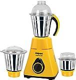 Jaipan Popular JPO-550-2 550-Watt Mixer Grinder (Yellow/Black)