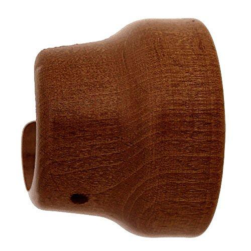 Riel Chyc 5430570 Support en bois lisse latéral 20 x 35 mm Couleur teck