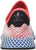 adidas Herren Deerupt Runner Gymnastikschuhe, Rot solar Red/Bluebird, 40 2/3 EU - 2