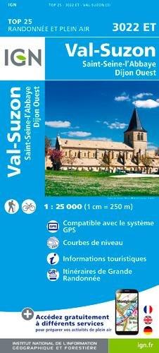 3022ET VAL SUSON - ST SEINE L'ABBAYE DIJON OUEST