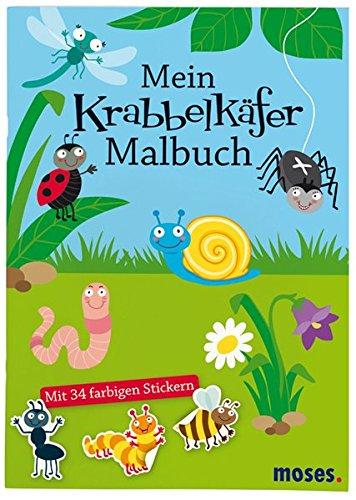 Preisvergleich Produktbild Mein Krabbelkäfer-Malbuch: Mit vielen Rätseln, Labyrinthen und Suchbildern