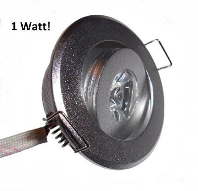 Led Einbauleuchte Strahler 1w Mini Warmweiss Einstellbar Mit Trafo von V-Tac