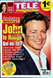 TELE MAGAZINE [No 2868] du 23/10/2010 - JOHN LE ROUGE QUI EST-TU / MENTALIST - ELSA FAYER / QUI VEUT EPOUSER MON FILS
