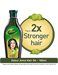 Dabur Amla Hair Oil for Long, Healthy & Strong Hair - 180ml
