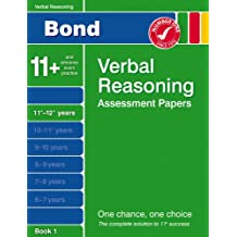 Bond Fifth Papers in Verbal Reasoning: Fifth Papers in Verbal Reasoning 11-12+ Years (Bond Assessment Papers)