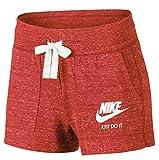 Nike W NSW Gym VNTG Kurze hosen, frau, Frau, W NSW Gym VNTG, Rot (Rush Coral (segel)),L
