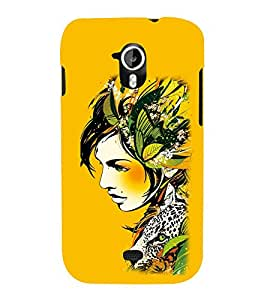 EPICCASE the fairy Mobile Back Case Cover For Micromax A116 Canvas HD (Designer Case)
