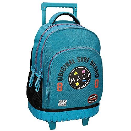 Rucksack mit Trolley blau Maui Cali