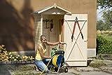 weka Holzbau GmbH weka Garten-/Terrassenschrank 351 Gr.1 Satteldach, 14mm, ET