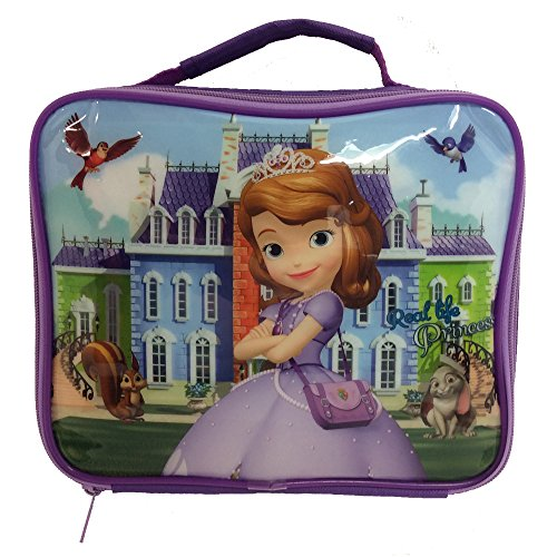 Lunchbox, Motiv Disney Sofia die Erste, mehrfarbig, Farbe