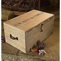 Extra grande familia álbum de fotos de madera Memory Box–para 192fotografías.