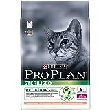 Purina Proplan - Croquettes Haut de Gamme pour le Bien-Etre des Chats Castrés ou Stérilisés - Saumon - Pack de...