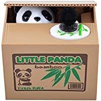 Preisvergleich für Cute Automated Panda Steal Coin Bank Piggy Bank Money Saving Box Gifts Netter Panda Automatische stehlen Münzen-Bank-Piggy Bank-Geld-Einsparung-Kasten-Geschenke