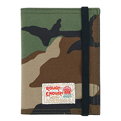 Rough Enough Passport Holders Cover And Document Holder Travel Wallet Bag Pouch Organizer for Men Women Kids Teenage Girls Boy Gifts with Credit Cards Holders Cordura Outdoor Durable Air Business Trip