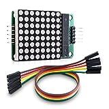 kwmobile 8x8 LED Matrix Modul - Anzeige Bausatz Segment für Raspberry Pi & Arduino - rote Dot LEDs digital - einfache Schaltung - Kaskadierbar