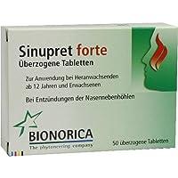 SINUPRET forte überzogene Tabletten 50 St preisvergleich bei billige-tabletten.eu