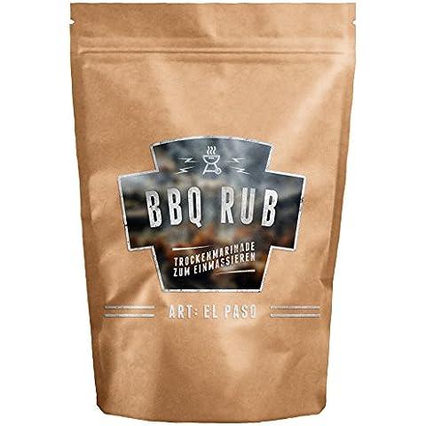 Condimento per Barbecue - EL PASO - Ideale per tutti tipi di carne (Tipo Di Gas)