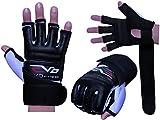 EVO Leather body GEL Gloves MMA Boxing Punch Bag Martial Arts Karate Mitt