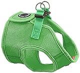 Puppia PAHA-AH305 Hundegeschirr Soft Weste, XL, grün