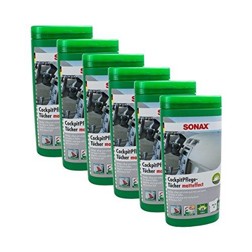 Sonax 04151000 KunststoffPflegeTücher